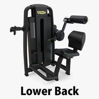 - sp lower technogym 3D model