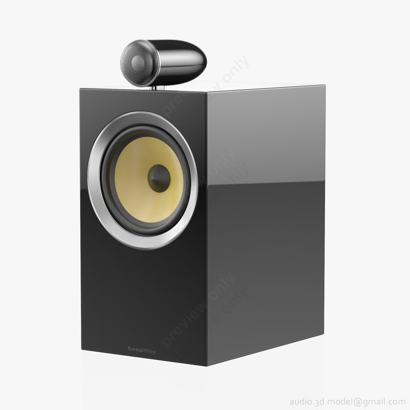 Bookshelf Bowers Wilkins Cm 3D