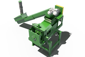 3D recycling machine model