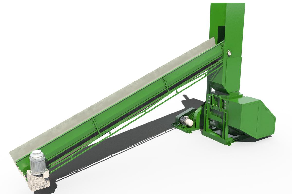 recycling machine 3D