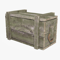 Ammo Crate (Medium) Green