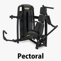 3D - sp pectoral technogym