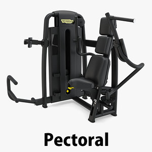3D - sp pectoral technogym