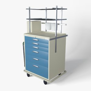 medical supply cart model
