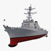 Arleigh Burke Destroyer Porter DDG-78