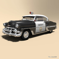 Chevrolet Bel Air 1953 Police