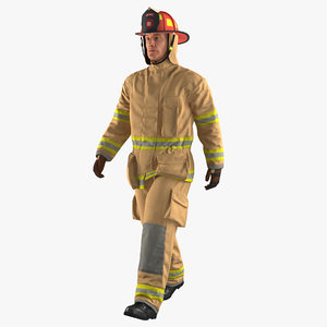 3D firefighter fully protective suit