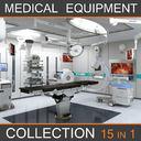 3D medical equipment model