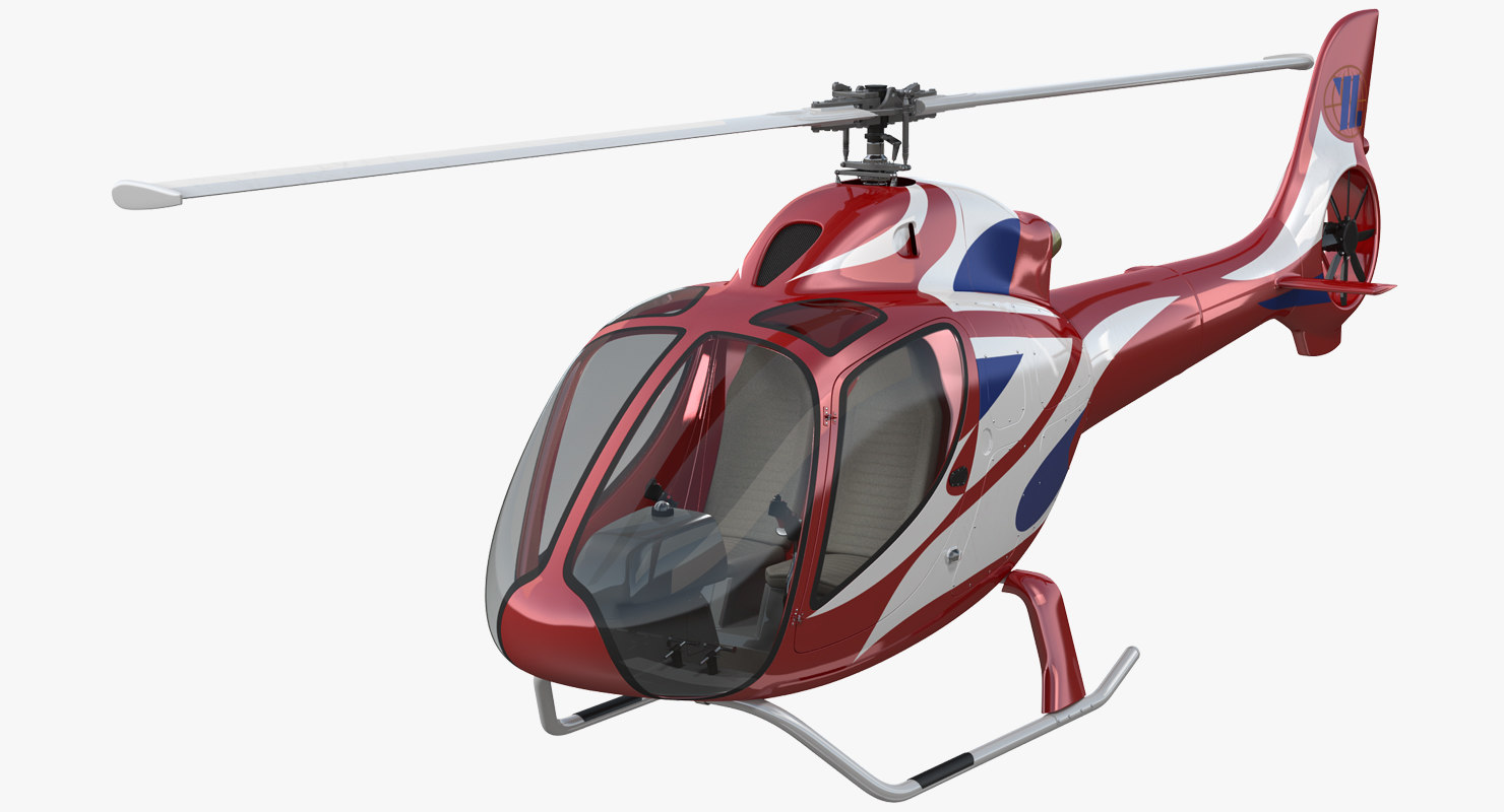 helicopter rt216 3D model