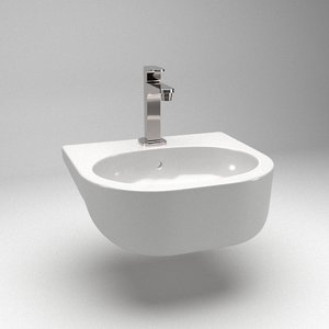 sink counter 3D model