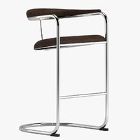 3D anton lorenz bar stool