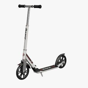 kick scooter razor a6 model
