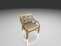 3D model armchair ready games