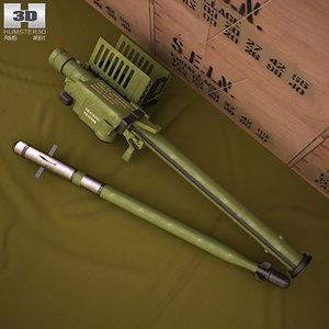 3D fim-92 stinger fim model