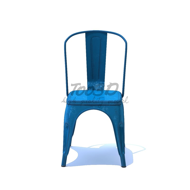 metal chair 3D model