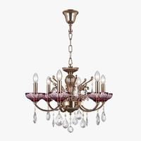 717062 bogemia osgona chandelier 3D