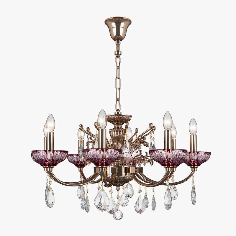 3D 717082 bogemia osgona chandelier model