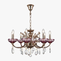 3D 717082 bogemia osgona chandelier model