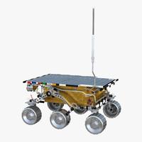mars rover sojourner 3D model