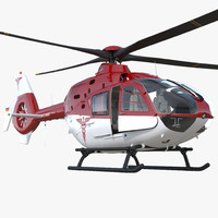3D medical air assistance eurocopter