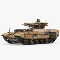Missile Tank BMPT 3D Model