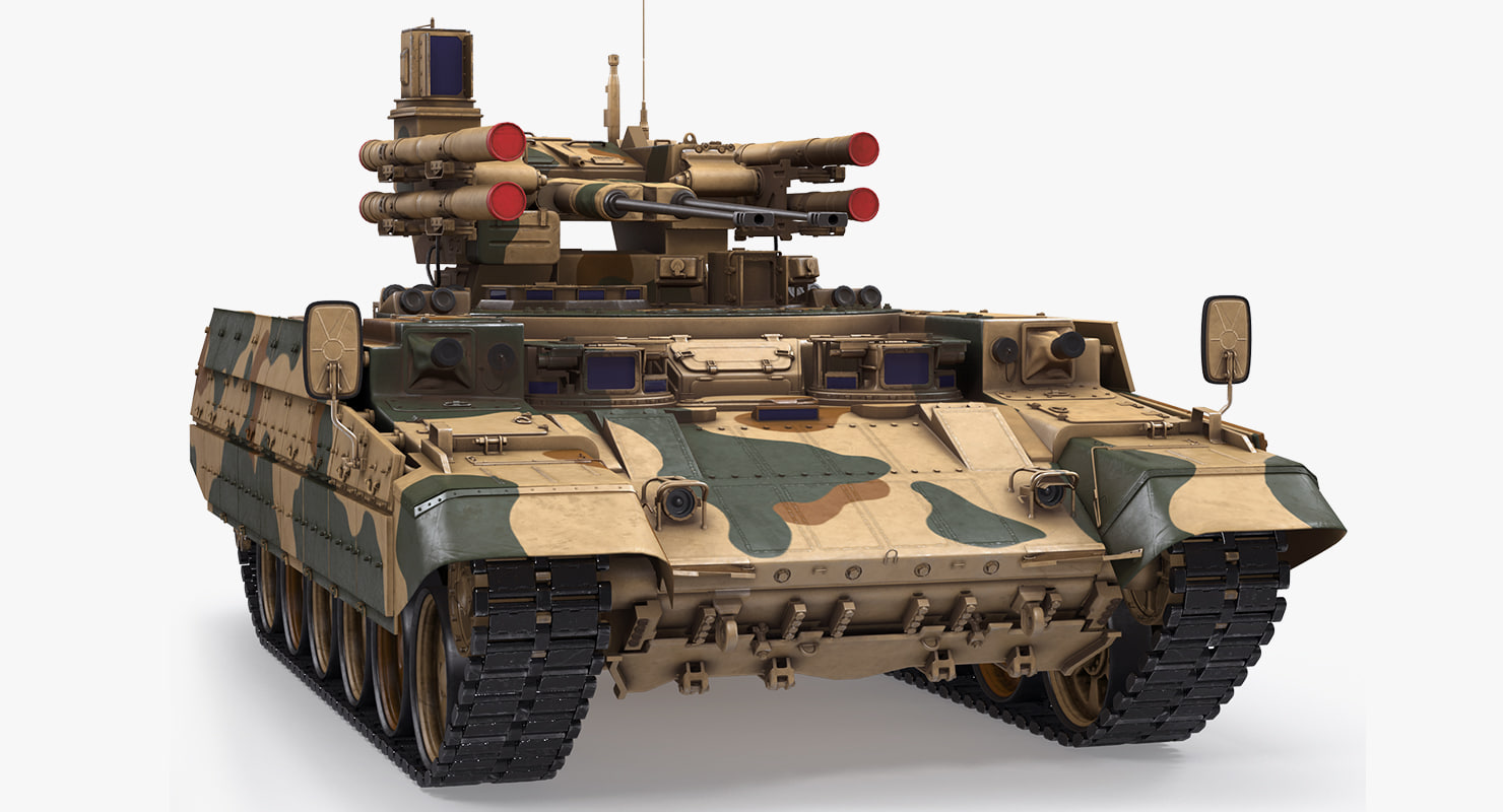 russian armored fighting vehicle 3D