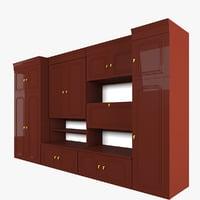 3D cabinet doors model