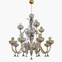 3D chandeliers sylcom foscari 1521