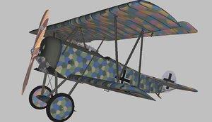3D model fokker d6