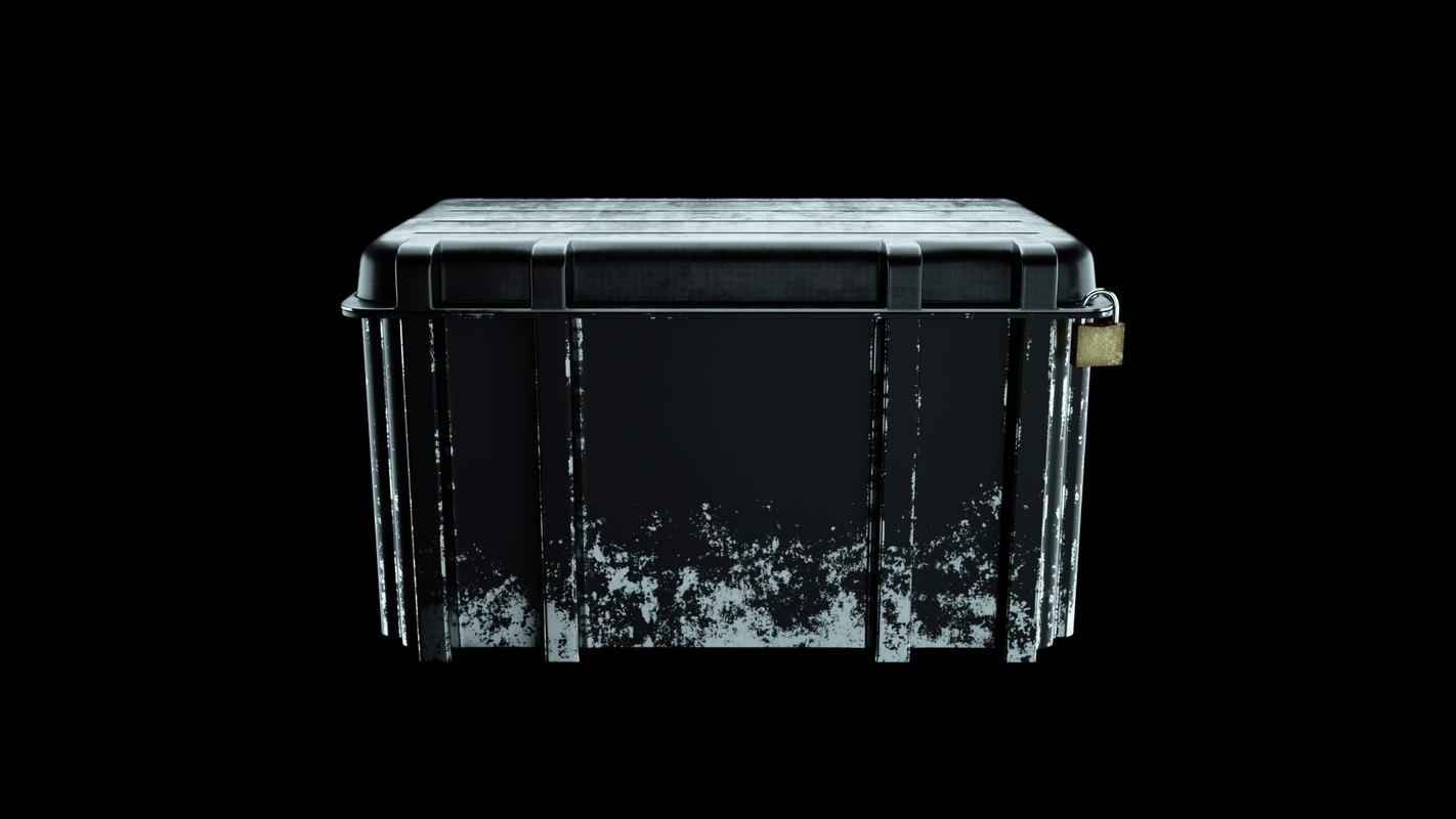 3D cs weapon case model