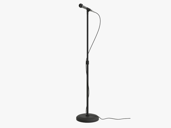 microphone stand mic model