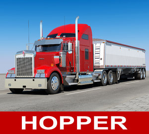 3D w900 hopper trailer