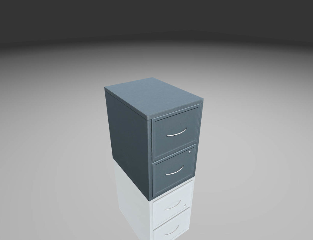 metall cabinet 3D