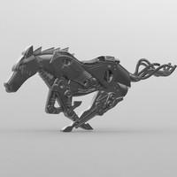 horse iron model