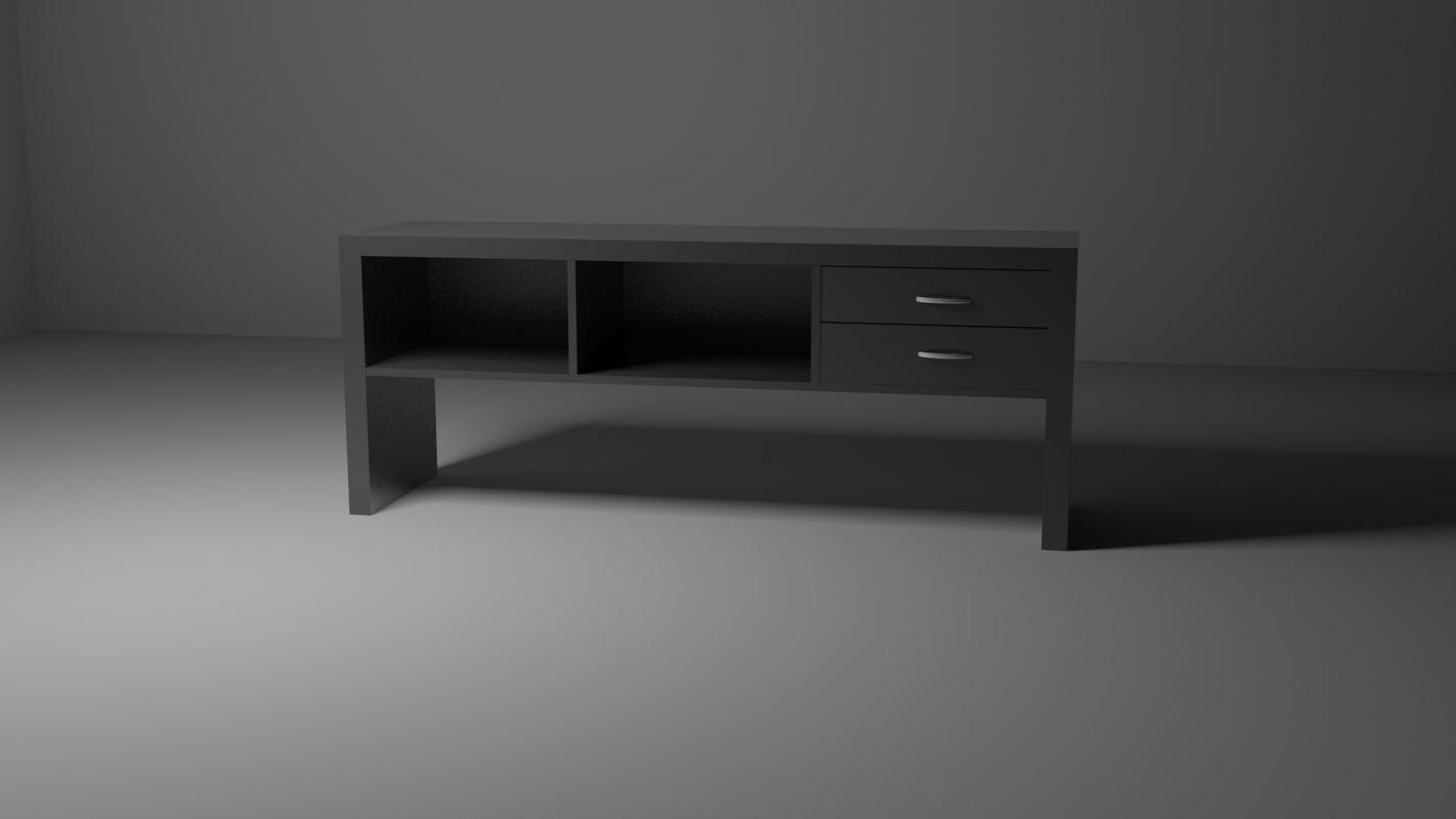 drawer simple 3D