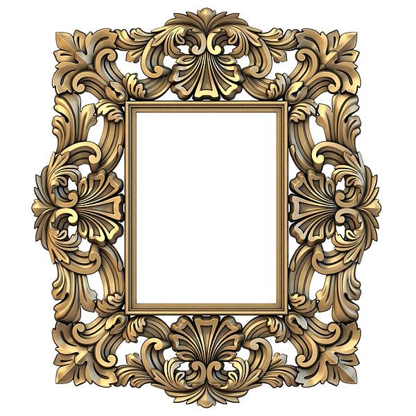 classic frame 3D model