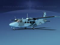 aircraft harbin y-12 ii 3D model