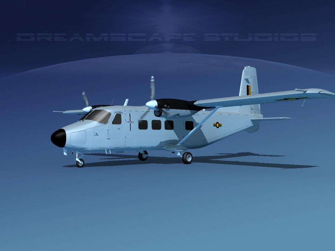 3D aircraft harbin y-12
