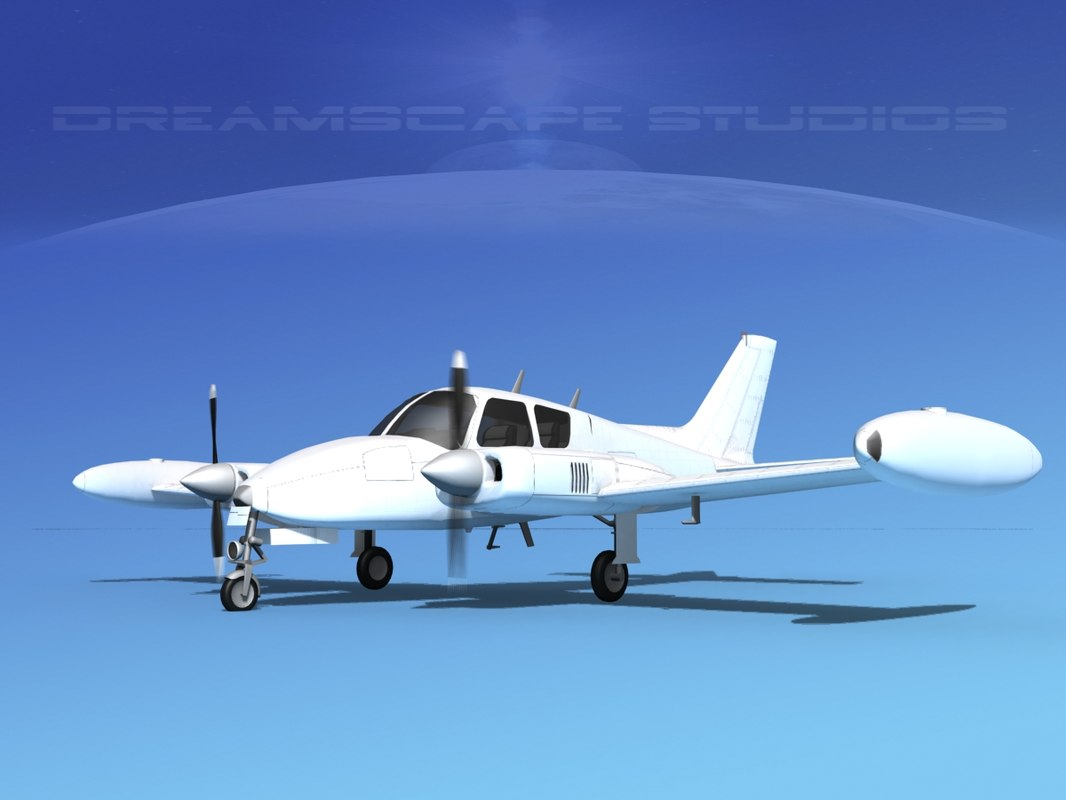 cessna u-3b liveries 3D model