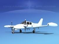 cessna u-3b liveries 3D model