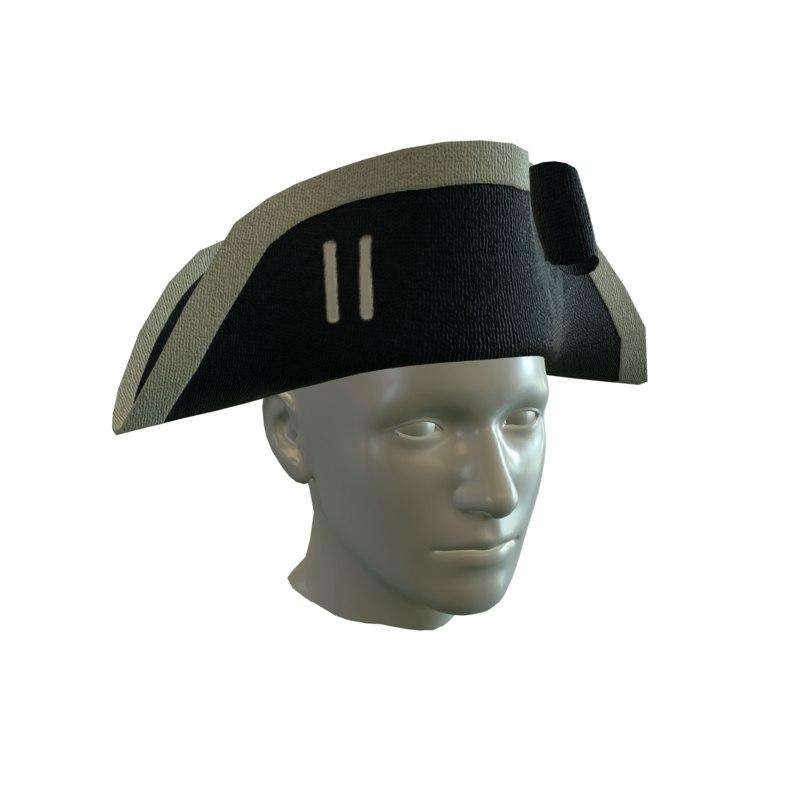 18th redcoat british 3D model