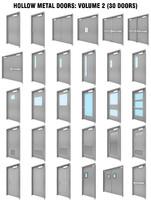 3D hollow metal doors 2