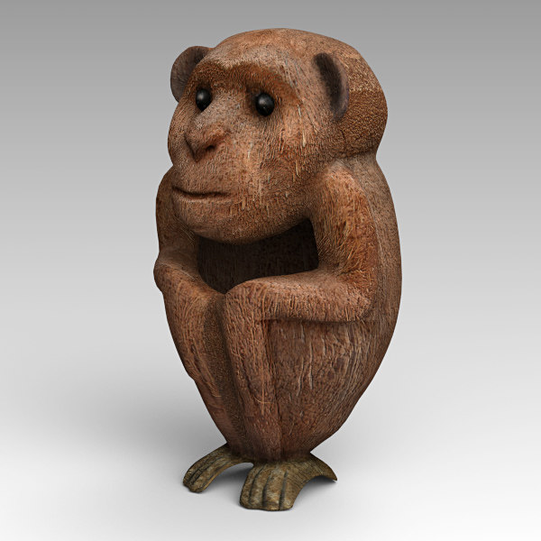 coco monkey 3D