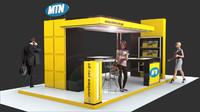 mtn exhibition 3D