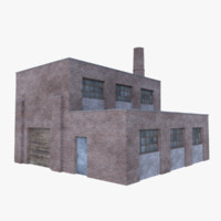 old brick factory 1 3D model
