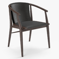 3D model chair jens b italia