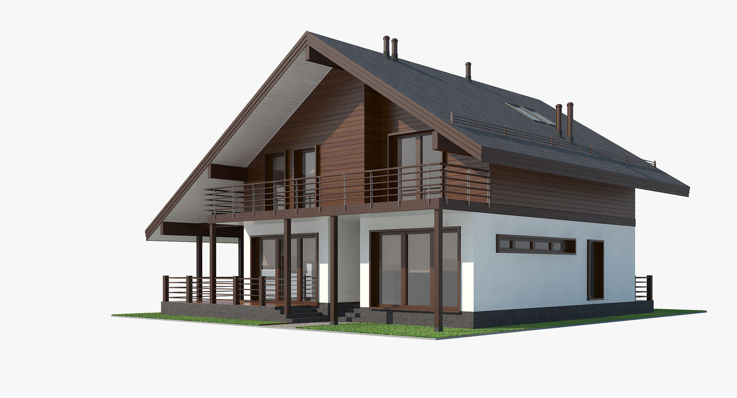 contemporary shale style house model