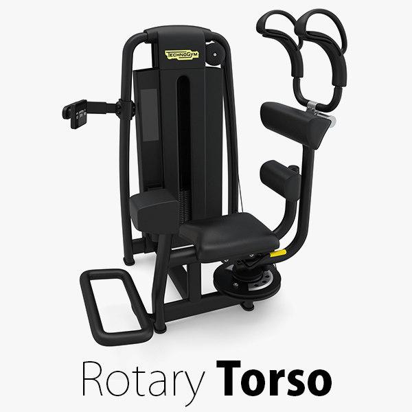 - sp rotary torso 3D