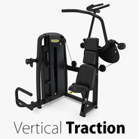 - sp vertical traction 3D model