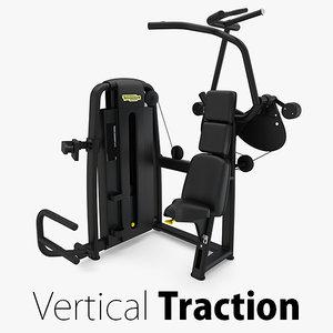 - sp vertical traction 3D model